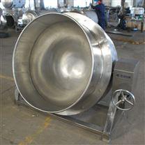 蒸汽式夹层锅 蒸汽加热蒸煮锅