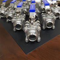 不锈钢三片式焊接球阀 国标手动球阀Q61F