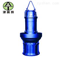 农田灌溉园林喷灌立式500QZB轴流潜水泵