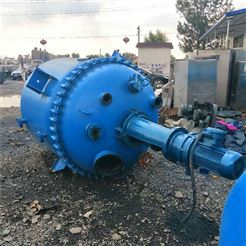 化工厂专用二手5吨搪瓷反应釜