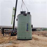 厂家定制一体化泵站玻璃钢预制泵站热销