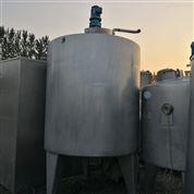 二手3吨不锈钢电加热搅拌罐