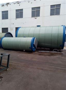 铜陵地埋式玻璃钢一体化污水提升泵站