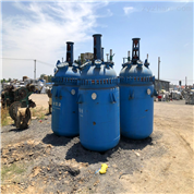 化工廠專用二手3噸搪瓷反應釜