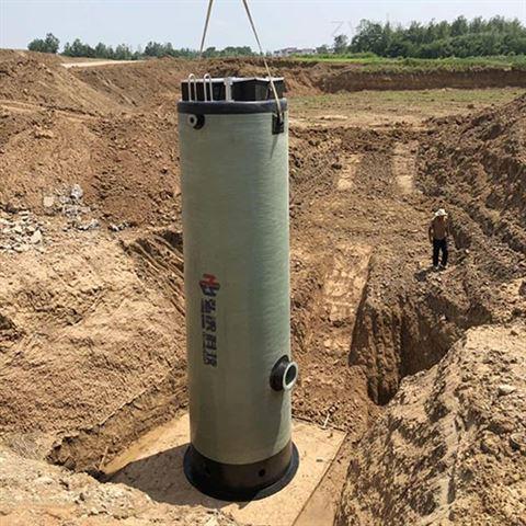 玻璃钢一体化泵站地埋式预制泵站生产