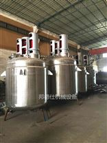 陕西3000L不锈钢反应釜 502胶生产设备