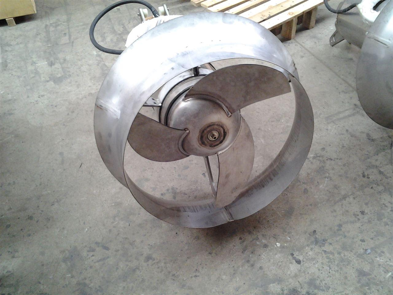 QJB型潜水搅拌机与潜水推流器的区别