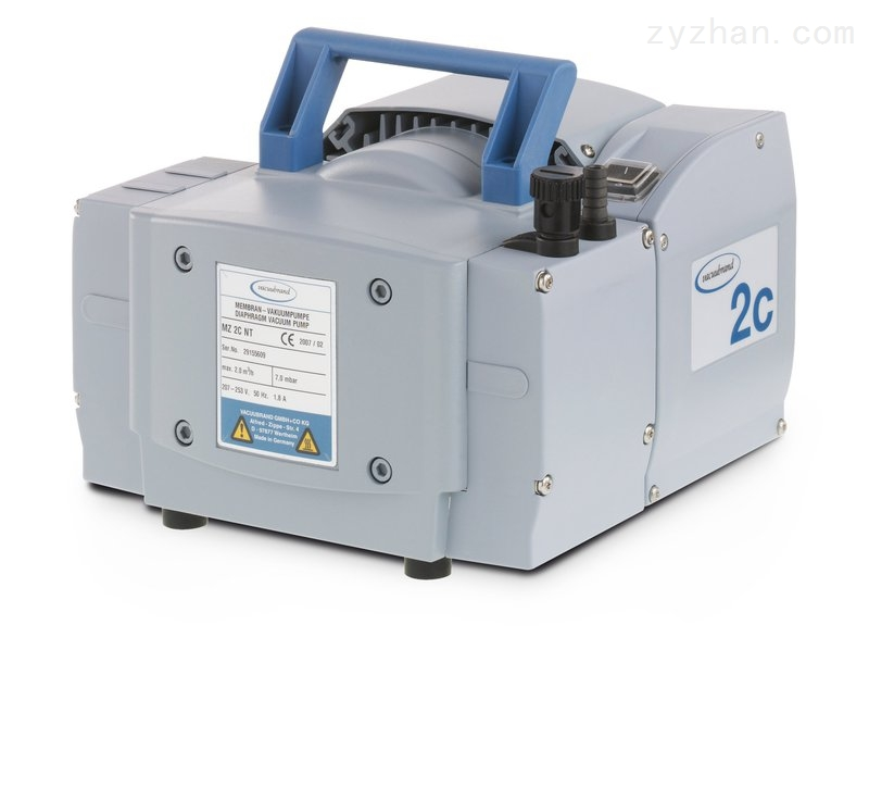 vacuubrand-抗腐蚀化学隔膜泵MZ 2C NT