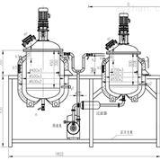 PG30-50L型浓稀配制罐机组