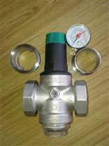 DN50帶壓力表DOROT不銹鋼可調式減壓閥