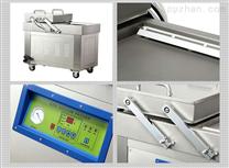 全自动600型平板双室食品真空充气包装机