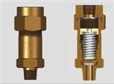 制冷压缩机专用安全阀SFA-22C300T
