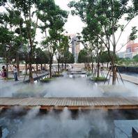 景观造雾设备 雾景系统的优势及其应用