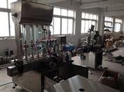 上海特卖全自动4头无粘性液体的定量灌装机