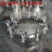 不锈钢法兰式 挂钩 吊环 卫生级压力人孔