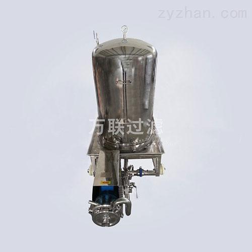 立式保温粉末活性碳过滤机