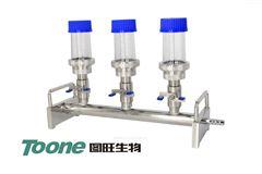TW-STV3A微生物过滤支架三联配反复使用滤杯100ml