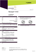 Novozym51032诺维信非固定化脂肪酶