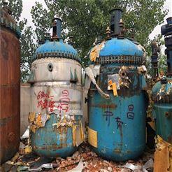 二手5吨搪瓷反应釜供应