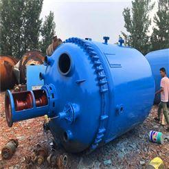 二手3吨搪瓷反应釜供应出售