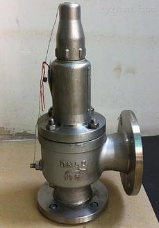 低温安全阀DA42Y-40P DN50整定压力3.3MPA