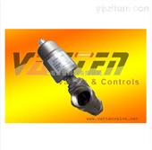 VT气动不锈钢弹簧式角座阀