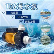 工程塑料海水泵海鮮養殖場用循環泵