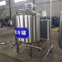 羊奶生产线 巴氏奶杀菌罐 制冷保鲜储奶罐