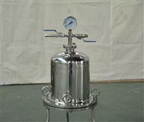 不锈钢小型精密正压过滤器