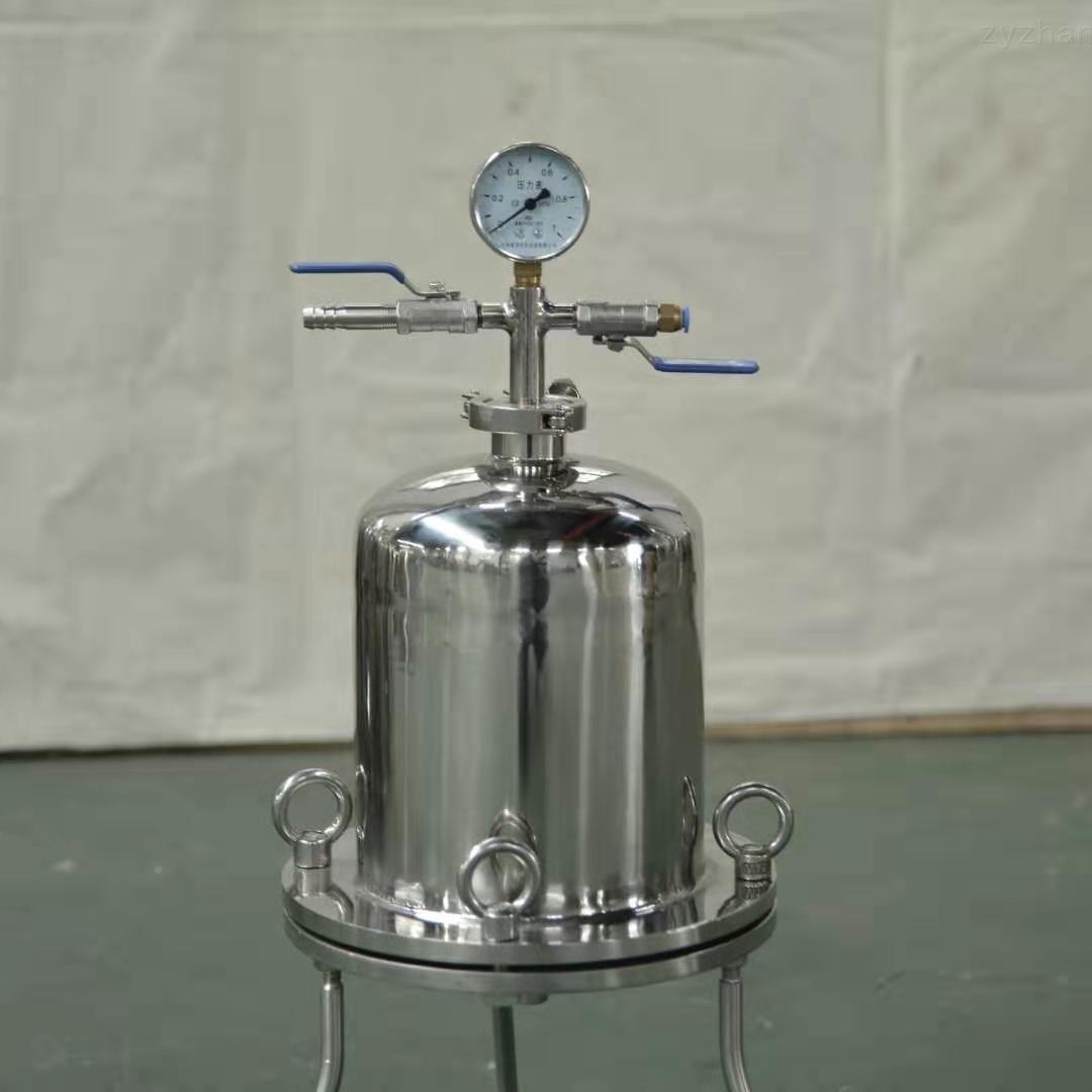小型实验室正压过滤器
