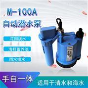 蓄水池雨水自動抽水泵手動自動兩用潛水泵