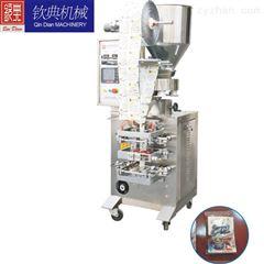 QD-60A/F上海欽典全自動三邊火鍋料醬料包裝機#上海四邊醬料包裝機#背封液體包裝機