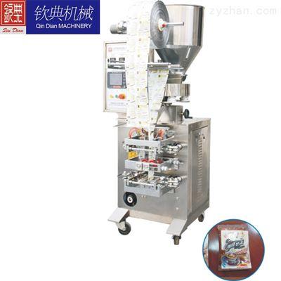 QD-60A/F上海钦典全自动三边火锅料酱料包装机#上海四边酱料包装机#背封液体包装机
