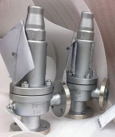 安全阀 型号:A47H-16C 公称通径:80mm