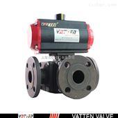 VT3CDF33A碳钢气动三通球阀