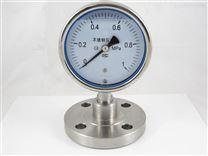 隔膜法兰压力表  仪器仪表