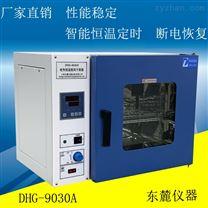 山東臺式電熱恒溫鼓風干燥箱