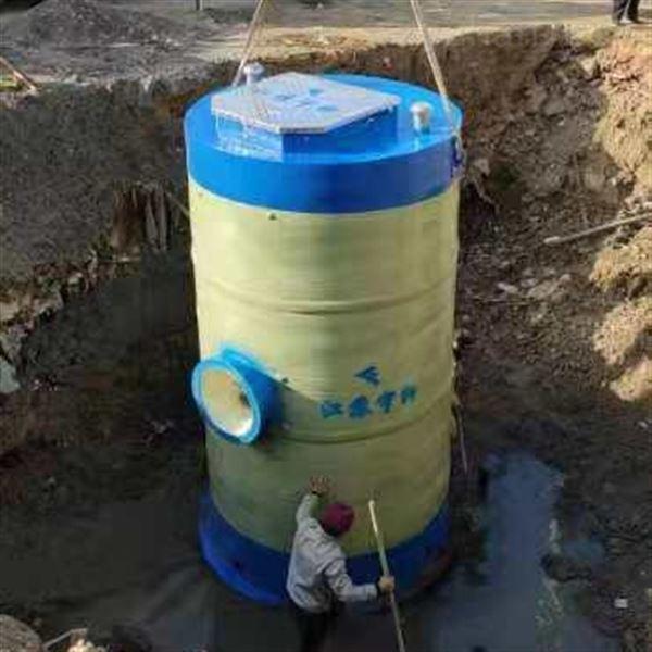 德州一體化預制泵站