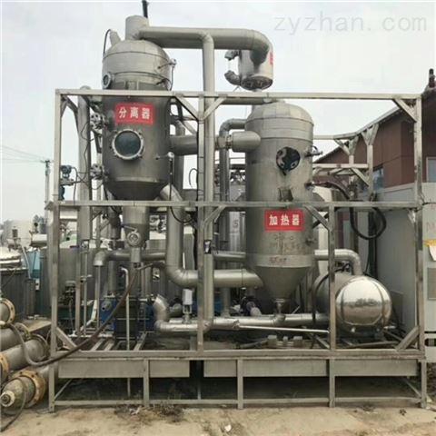 大量转让二手强制循环蒸发器全套处理