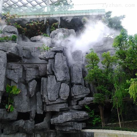 冷雾降温 喷雾加湿系统 高压降温加湿设备