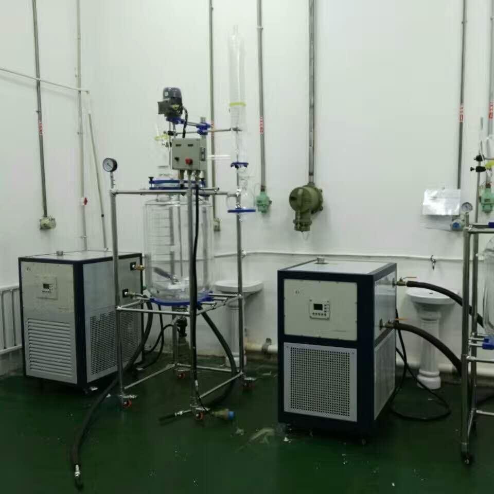 双层玻璃反应釜成套装置