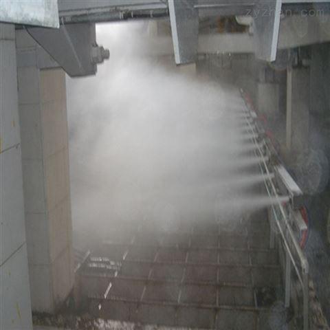 钢铁矿场干雾抑尘喷雾系统