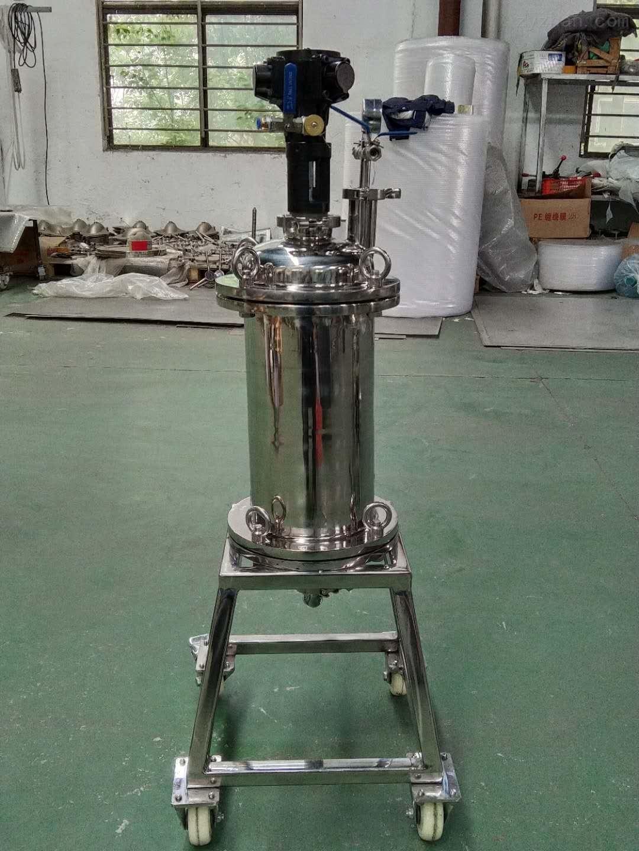 不锈钢实验室气动搅拌过滤器