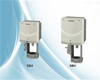 西門子電動執行器SBX61