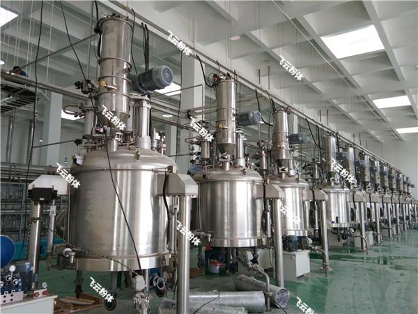 真空上料机反应釜加料应用实例