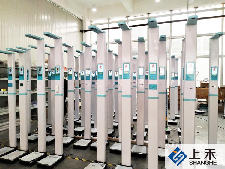 SH-200G全自动超声波身高体重测量仪工厂图