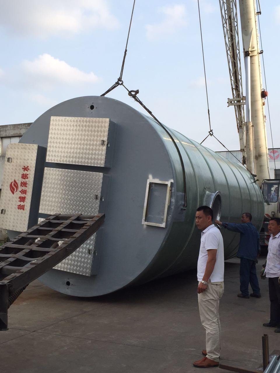 污水提升一体化泵站厂家指导安装
