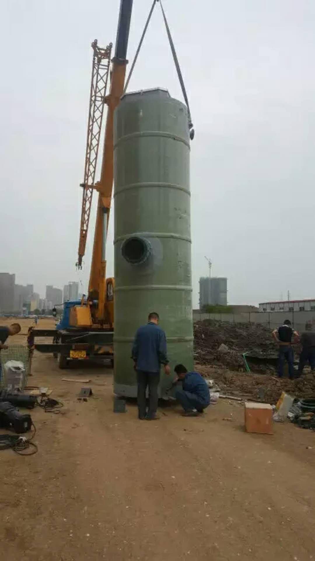 玻璃钢一体化污水提升泵站大美盐城