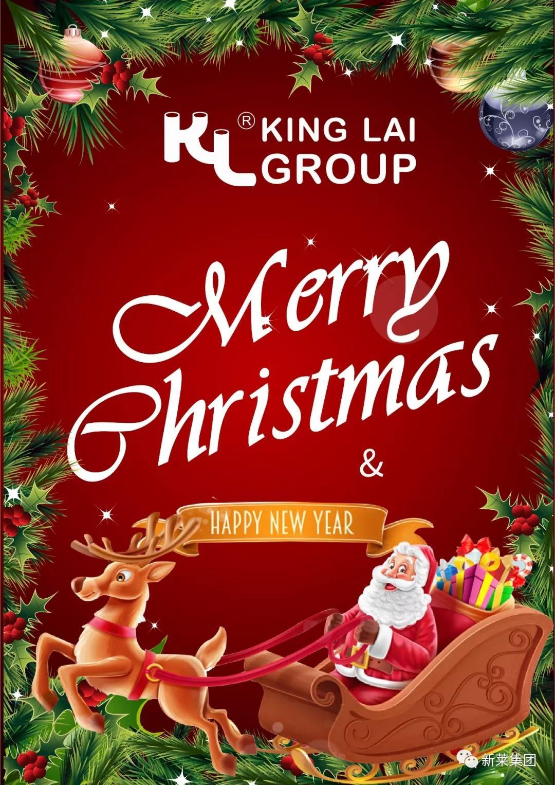 新萊集團祝大家圣誕節快樂!